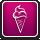 Čerstvá lahodná zmrzlina - Ikona