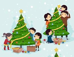 Soutěže vánoční stromky - Obrázek